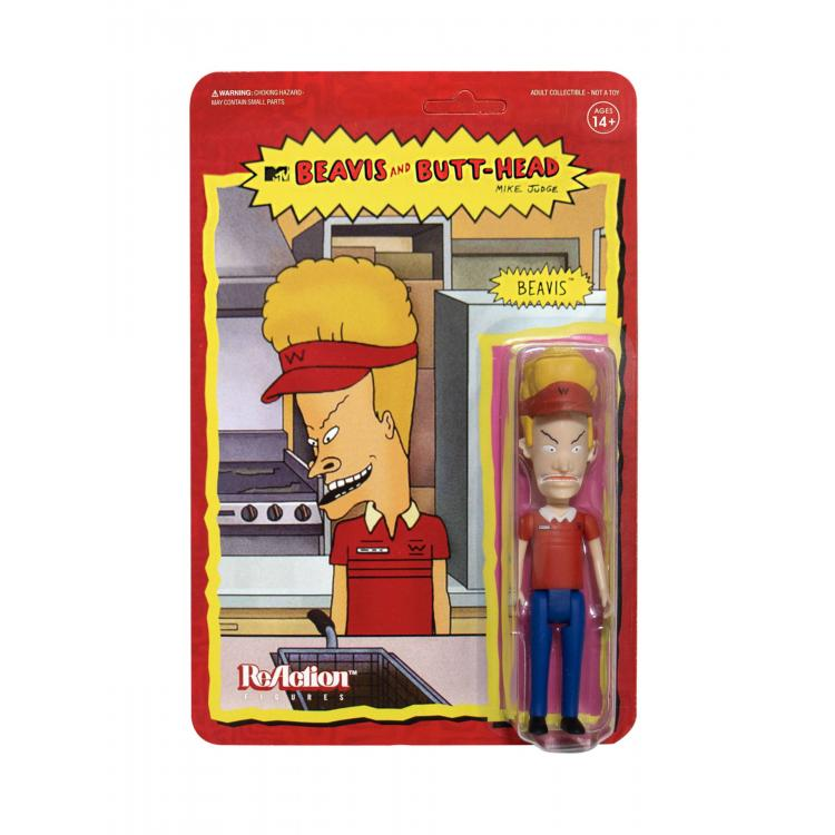 Beavis & Butt-Head Figura ReAction Wave 1 Burger World Beavis 10 cm