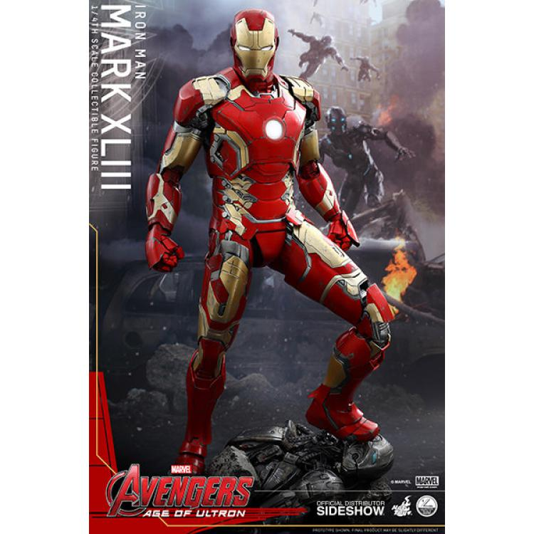 Avengers: Age of Ultron - Iron Man Mark XLIII - Quarter Scale Figure