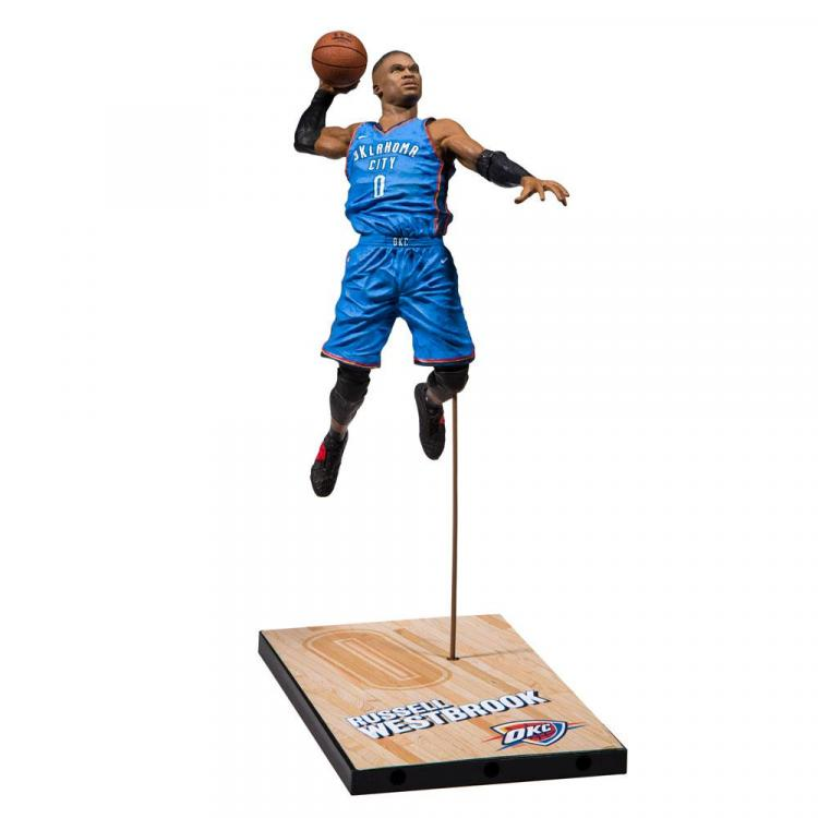 NBA 2K19 Action Figure Series 1 Russel Westbrook (Oklahoma City Thunder) 15 cm