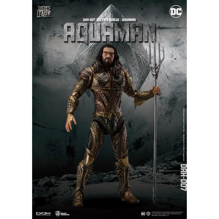 la liga de la justicia Figura Dynamic 8ction Heroes 1/9 Aquaman 20 cm