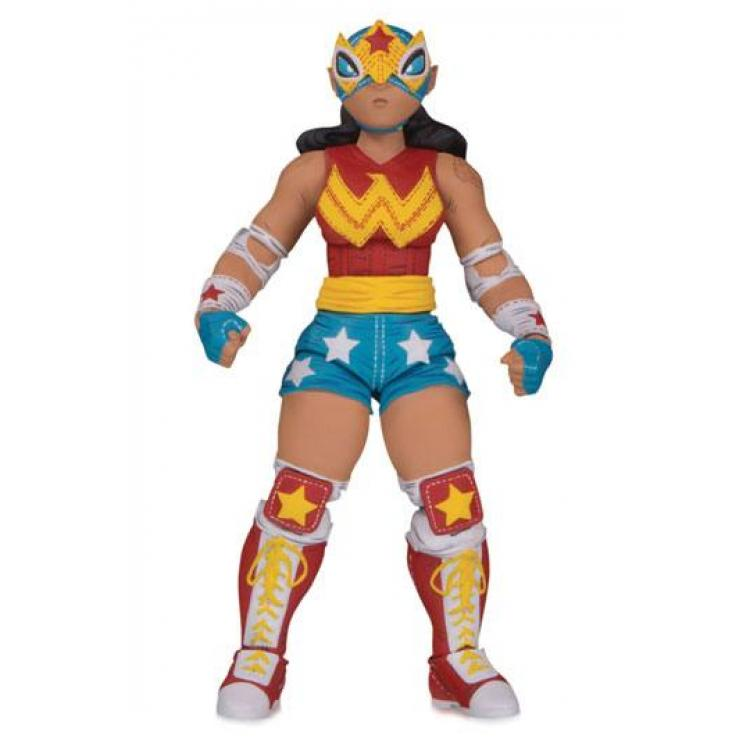 DC ¡Lucha Explosiva! Action Figure Wonder Woman 18 cm