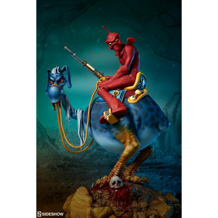 William Stout\'s Red Rider Statue by Sideshow Collectibles