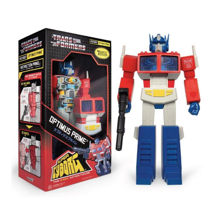 Transformers Figura Super Cyborg Optimus Prime (G1) Cartoon 30 cm