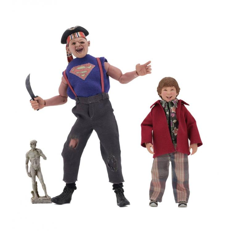 The Goonies Retro Action Figure 2-Pack Sloth & Chunk 13-20 cm
