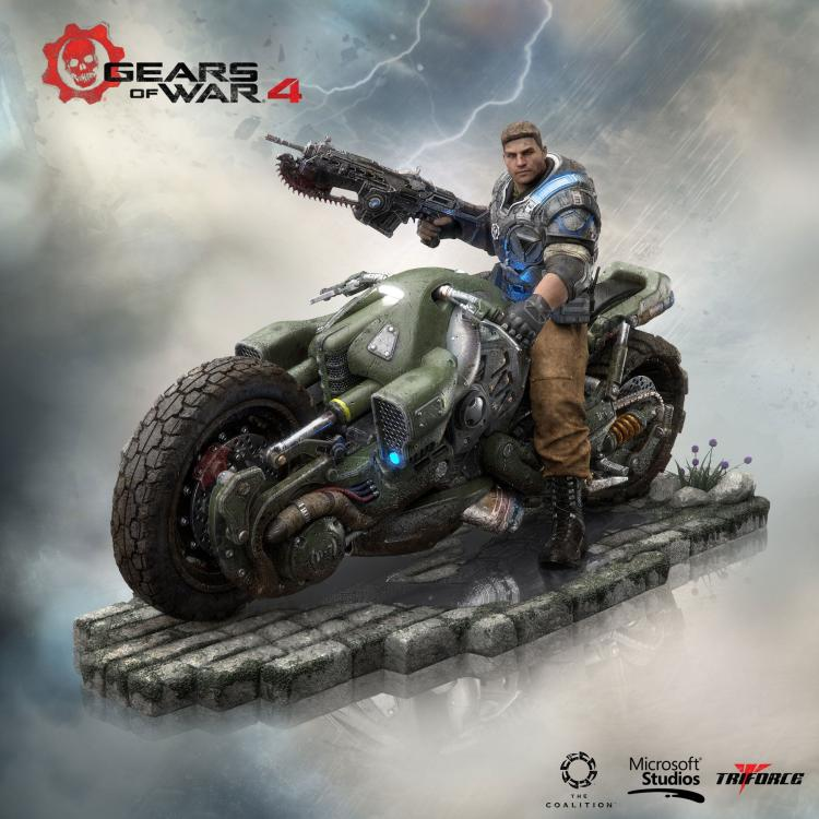 Gears of War 4 Collector\'s Edition PVC Statue JD Fenix 28 cm