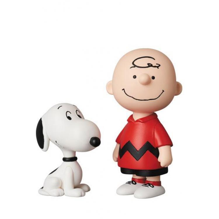 Peanuts Minifiguras UDF Serie 10 Charlie Brown & Snoopy 9 - 6 cm
