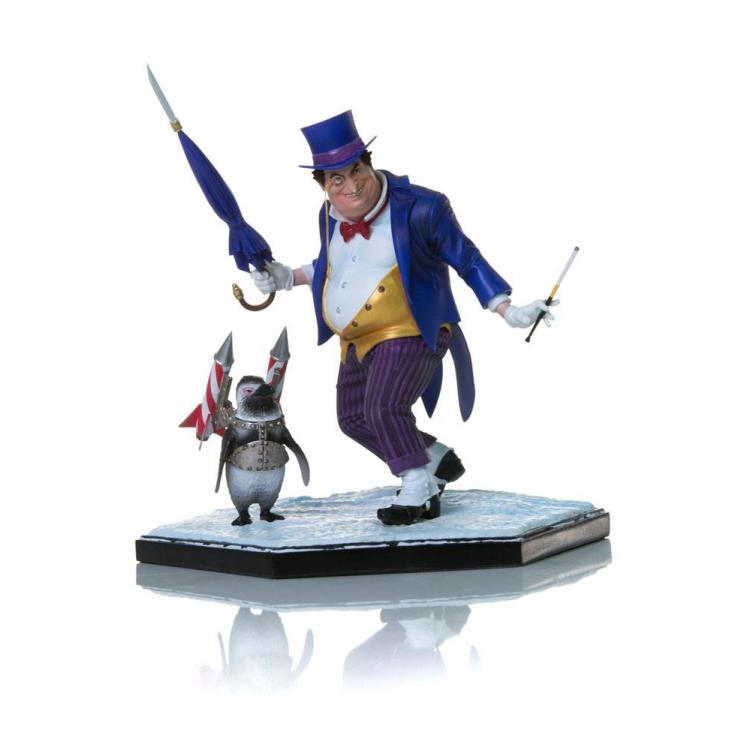 DC Comics Estatua Art Scale Deluxe 1/10 The Penguin 18 cm