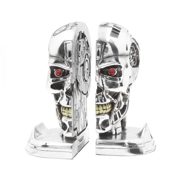 Terminator 2 Bookends Head