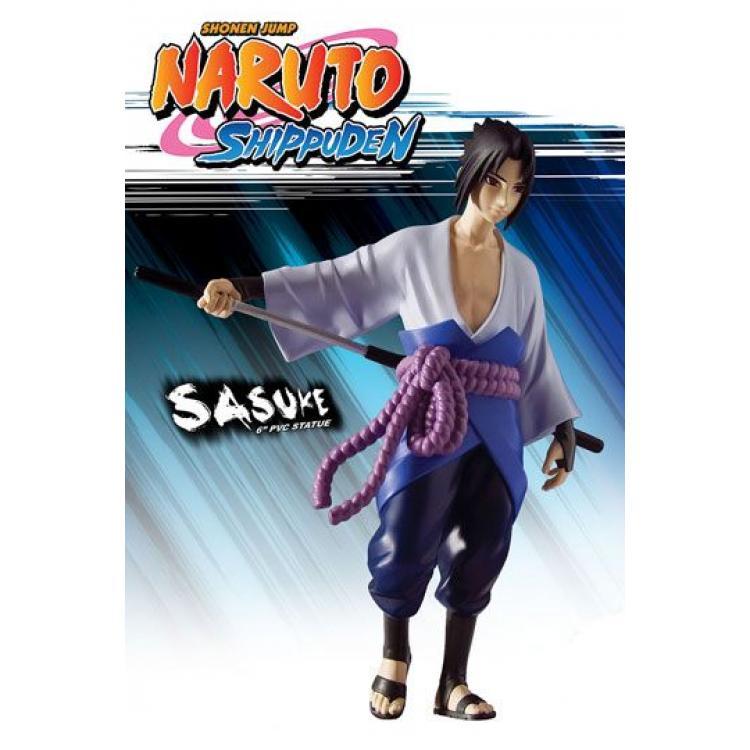 Naruto Shippuden Estatua PVC Sasuke 15 cm