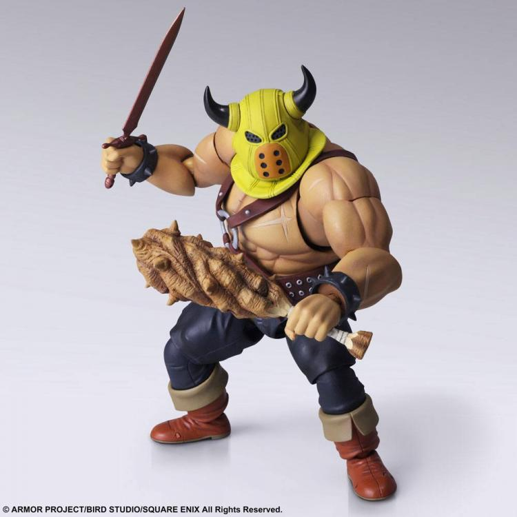 Dragon Quest Figura Bring Arts Toughie Armourer Ver. 15 cm