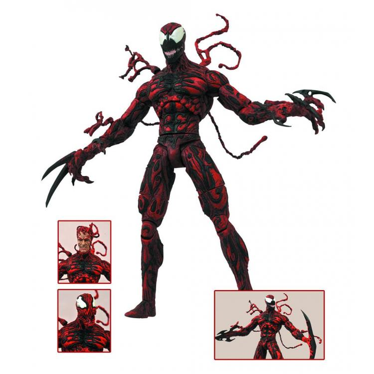 Marvel Select Figura Carnage 20 cm Spiderman