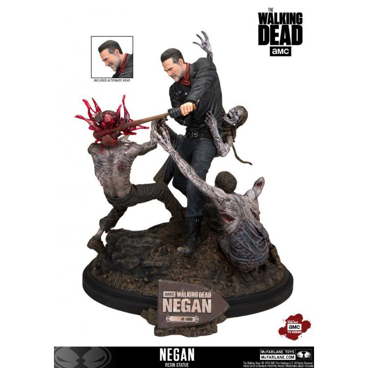 The Walking Dead Estatua Negan 30 cm