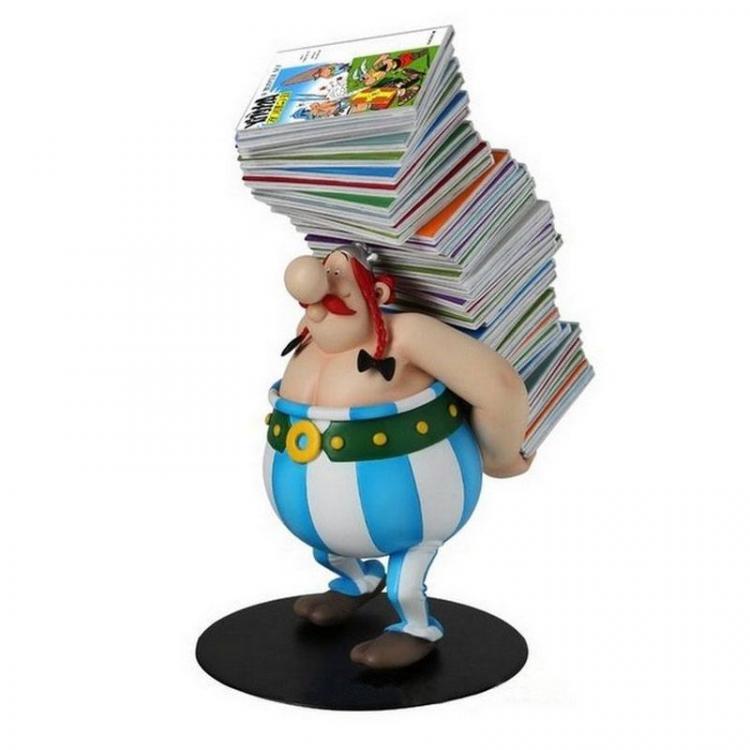 Asterix Estatua Collectoys Obelix 21 cm