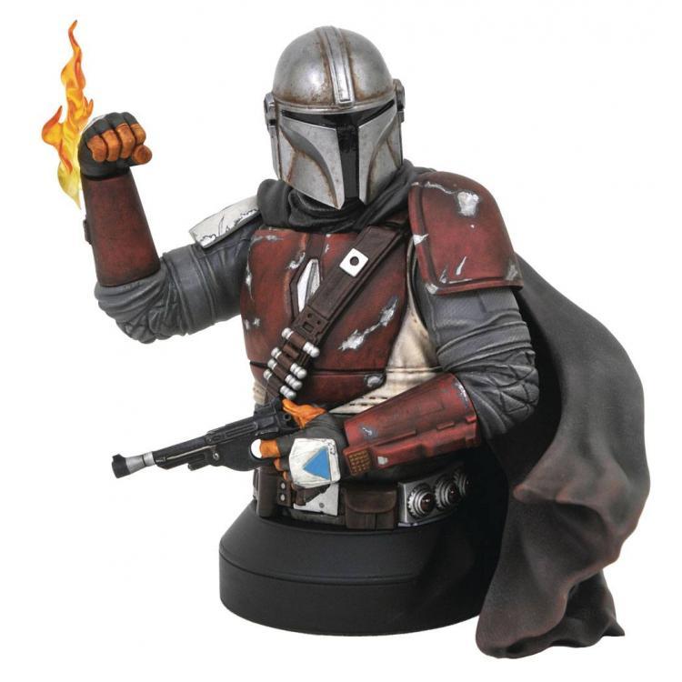 Star Wars The Mandalorian Busto 1/6 MK1 15 cm