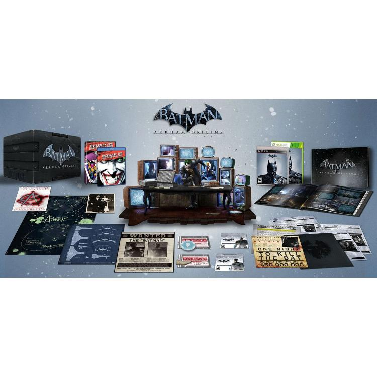 Batman Arkham Origins Ultimate Collectors Set