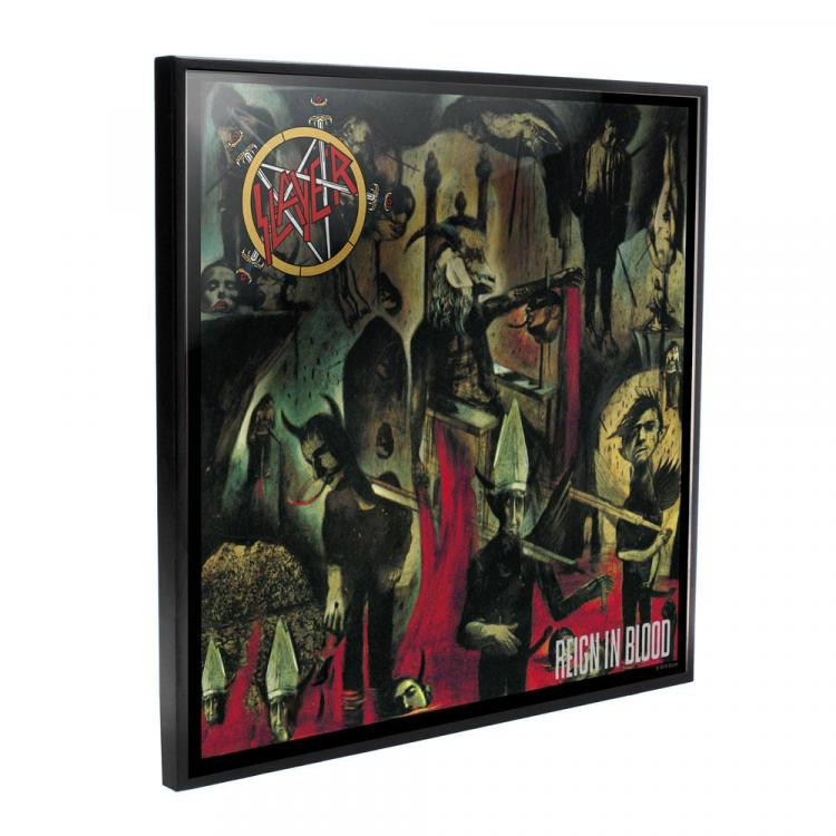 Slayer Crystal Clear Picture Reign in Blood 32 x 32 cm