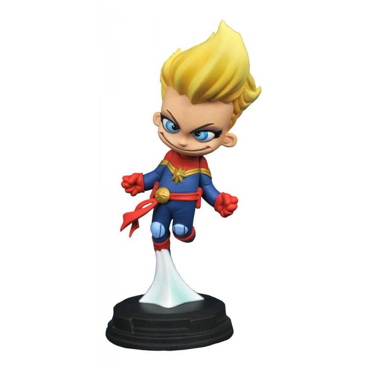 Marvel Animated Statue Captain Marvel 10 cm