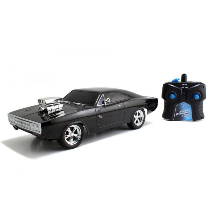 Fast & Furious RC Car 1/16 Dom \'s 1970 Dodge Charger R/T