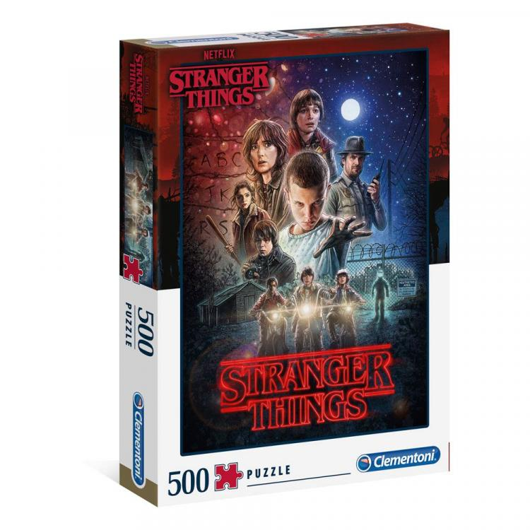 Stranger Things Jigsaw Season 1 (500 pieces)