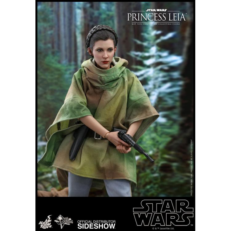 Princess Leia Sixth Scale Figure by Hot Toys Star Wars Episode VI: Return of the Jedi - Movie Masterpiece Series