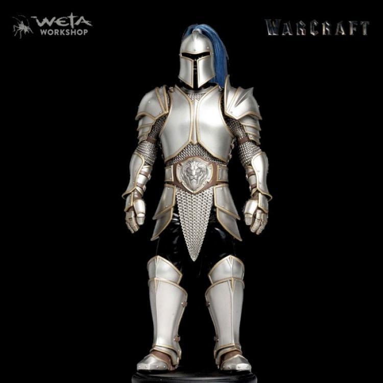 Warcraft Estatua 1/6 Armadura de Foot Soldier 33 cm