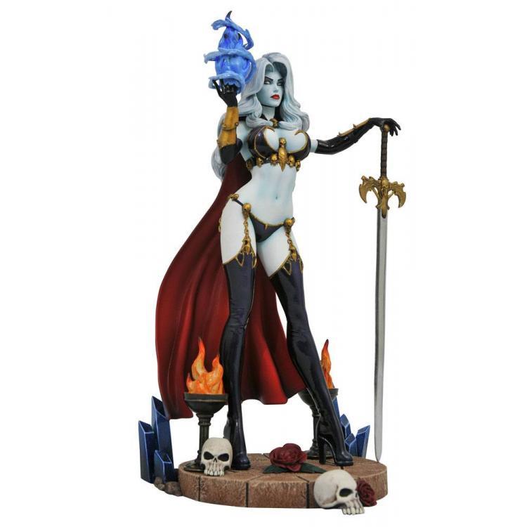 Femme Fatales Estatua Lady Death IV 23 cm