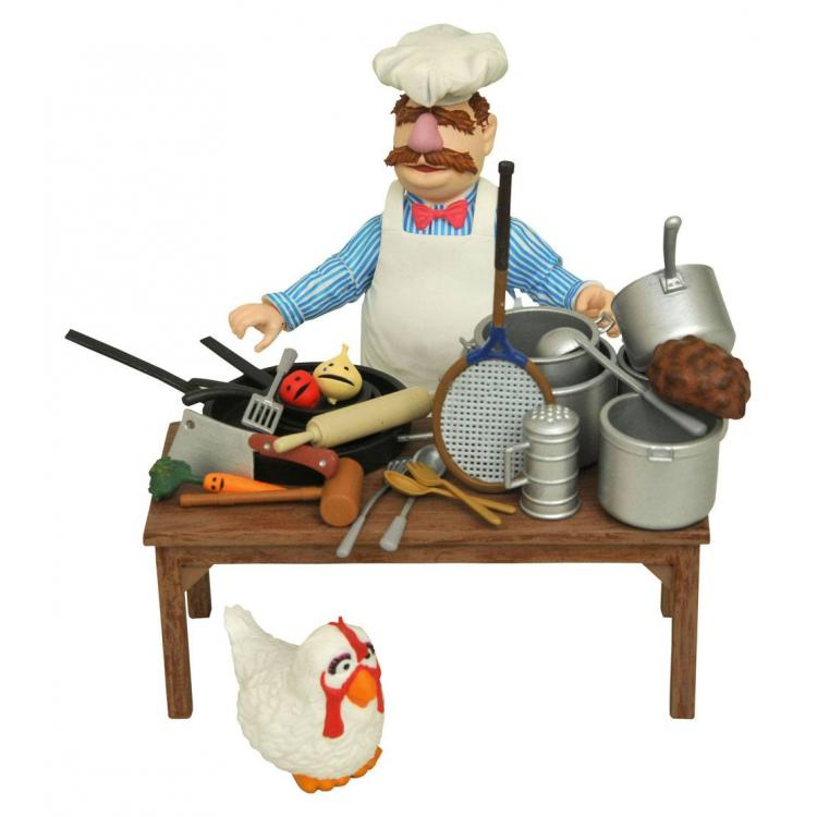 The Muppets Figura The Swedish Chef Deluxe Gift Set