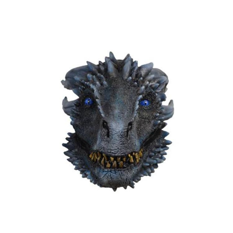 Game of Thrones Latex Mask White Walker Dragon
