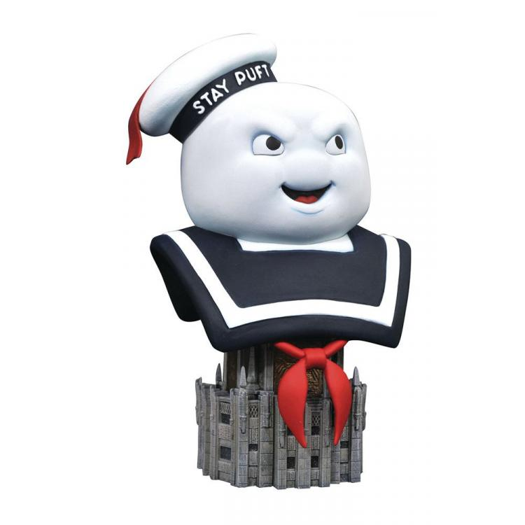 Ghostbusters Legends in 3D Bust 1/2 Stay Puff 25 cm