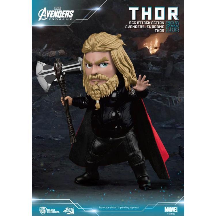 Avengers: Endgame Egg Attack Action Figure Thor 17 cm