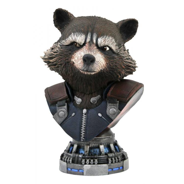 Avengers: Endgame Legends in 3D Bust 1/2 Rocket Raccoon 20 cm
