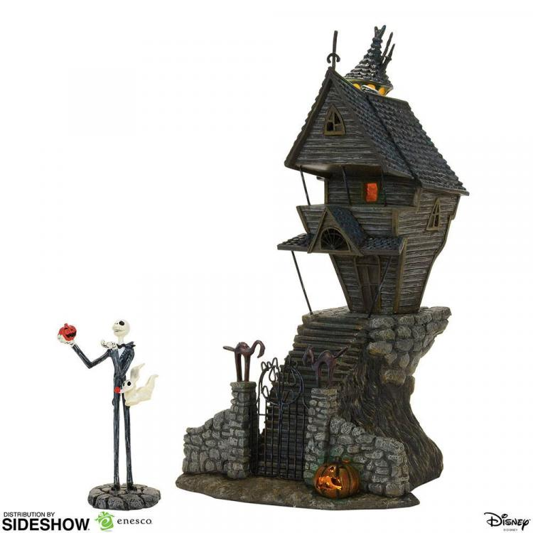 Nightmare Before Christmas Statue Jack Skellington\'s House 29 cm