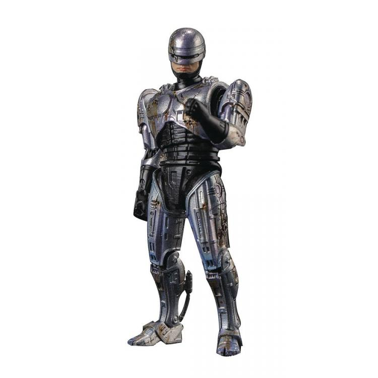 Robocop Figura 1/18 Battle Damage Robocop Previews Exclusive 11 cm