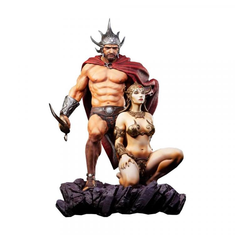 Frazetta Legacy Series Estatua 1/4 The Swordsman of Mars 53 cm