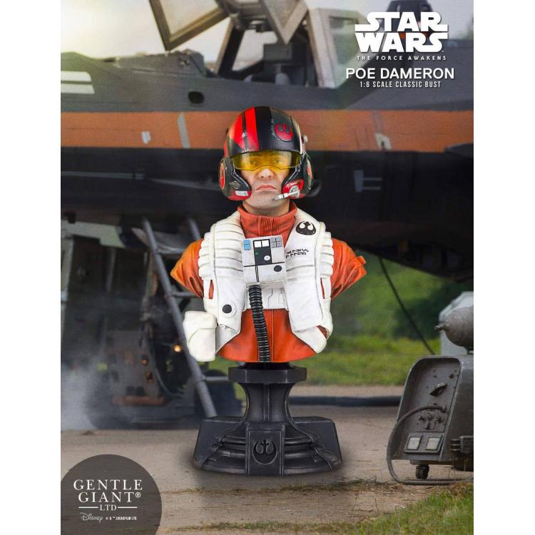 Star Wars Episode VII Busto 1/6 Poe Dameron PGM Exclusive 16 cm