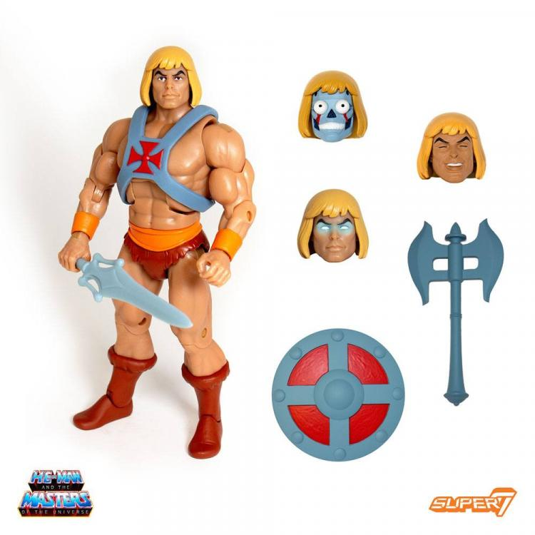 Masters of the Universe Classics Figura Club Grayskull Ultimates He-Man 18 cm