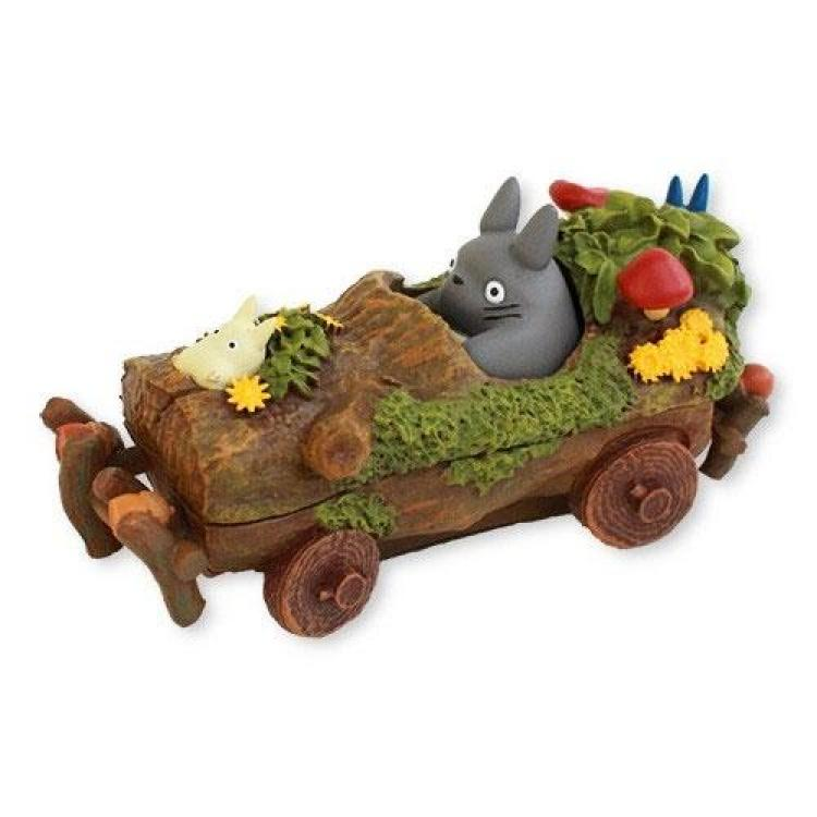 Mi vecino Totoro Estatua Forest Ornament Ride in Cart 11 cm