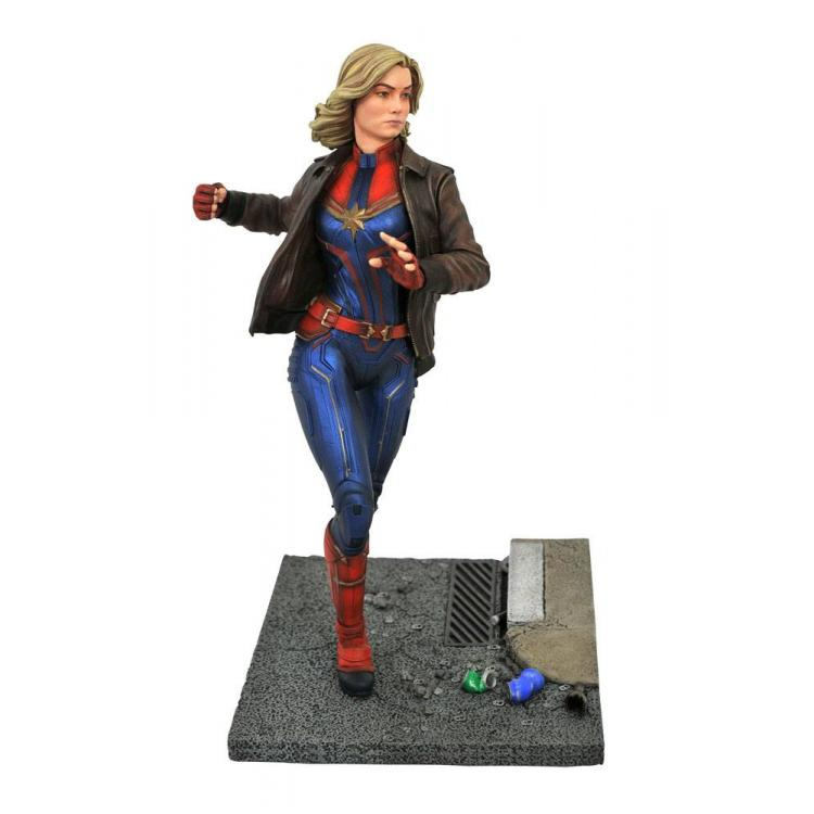 Captain Marvel Marvel Movie Premier Collection Statue Captain Marvel 28 cm