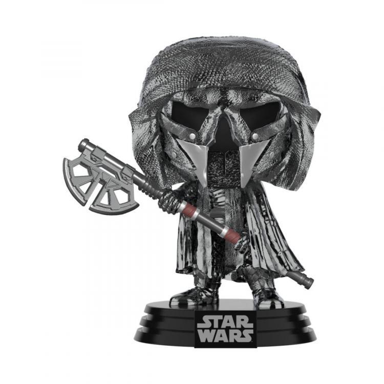 Star Wars POP! Movies Vinyl Figura KOR Axe (Chrome) 9 cm