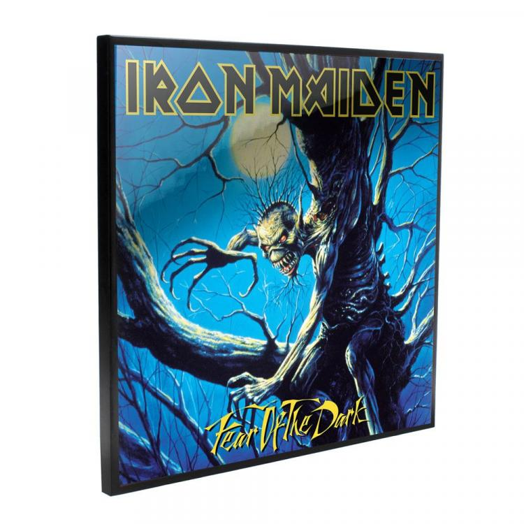 Iron Maiden Crystal Clear Picture Fear of the Dark 32 x 32 cm