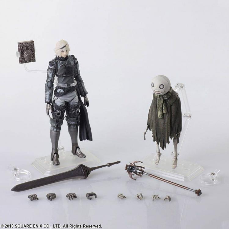 NieR RepliCant Bring Arts Pack de 2 Figuras Nier & Emil 6-16 cm