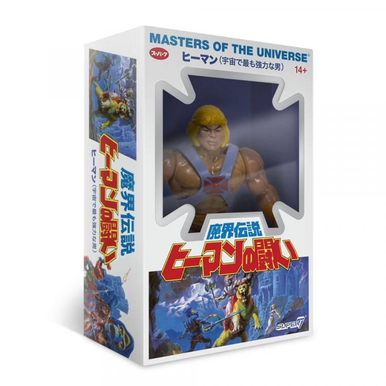 Masters of the Universe Figura Vintage Collection Wave 4 He-Man Japanese Box Ver. 14 cm