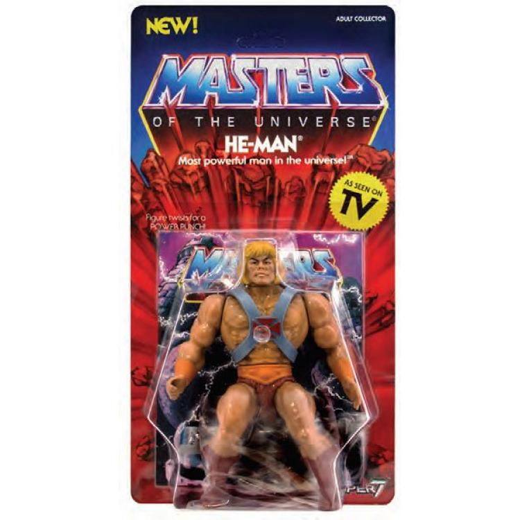 Masters of the Universe Vintage Collection Action Figure He-Man 14 cm