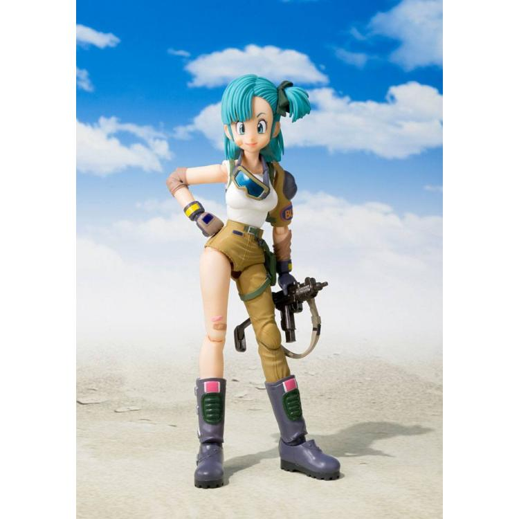 Dragonball S.H. Figuarts Action Figure Bulma Tamashii Web Exclusive 14 cm