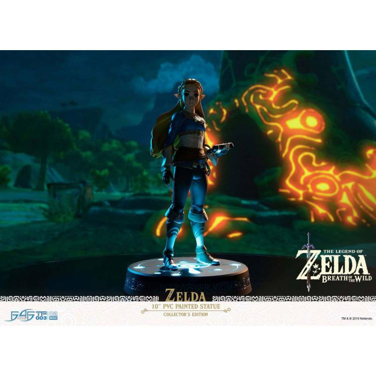 The Legend of Zelda Breath of the Wild PVC Statue Zelda Collector\'s Edition 25 cm