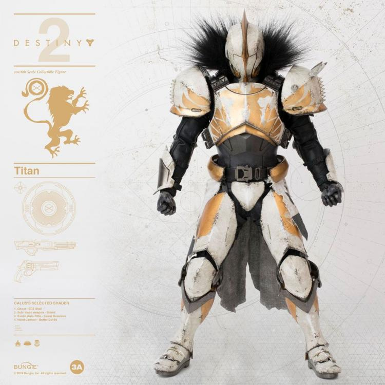 Destiny 2 Figura 1/6 Titan Calus\'s Selected Shader 32 cm