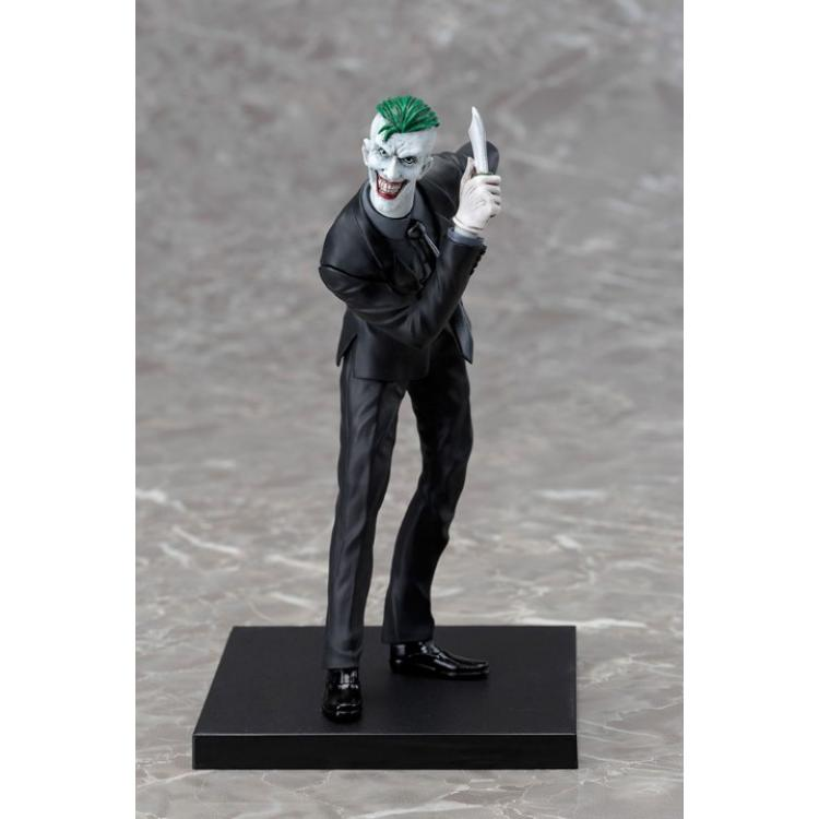 DC Comics Estatua PVC ARTFX+ 1/10 Joker (The New 52) 19 cm