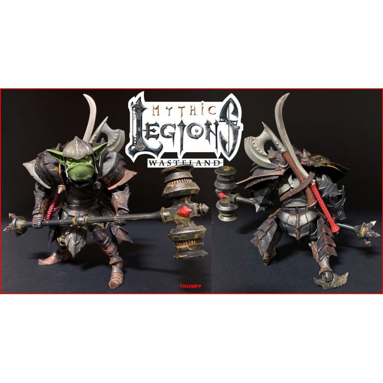 Mythic Legions: Wasteland Figura Thumpp 15 cm