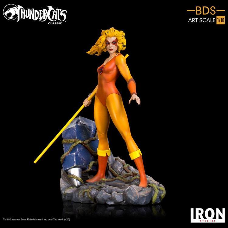 ThunderCats: Los felinos cósmicos Estatua BDS Art Scale 1/10 Cheetara 20 cm