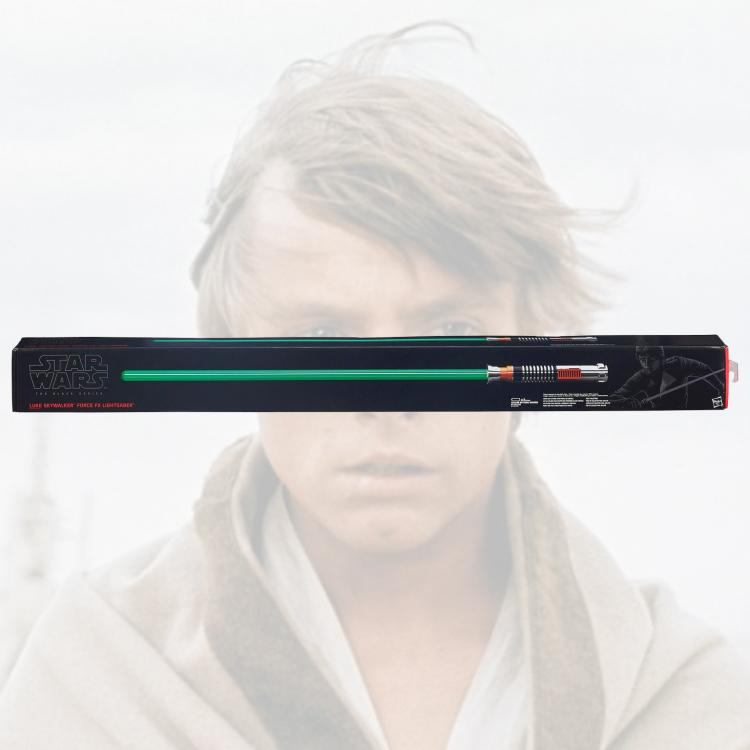Star Wars EP6 Luke Skywalker Force FX Lightsaber